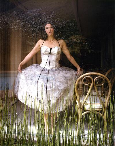 Judy Dater, 'Self-portrait in Party Dress', 1983