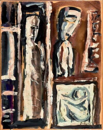 Mario Sironi, 'Composizione', 1955