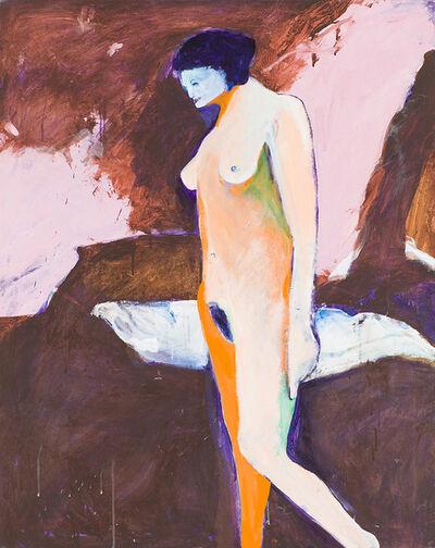 Fritz Scholder, 'Sleep Walker #1', 1990