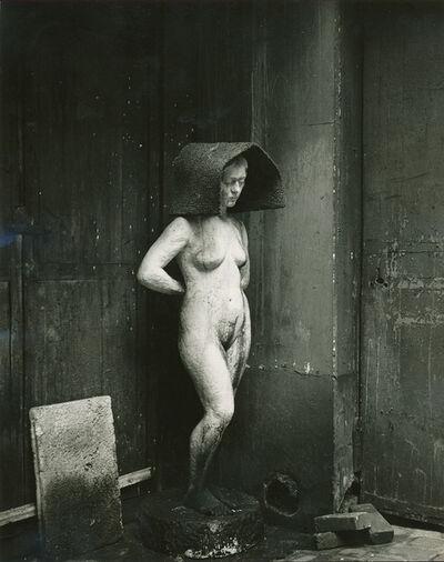 Todd Webb, 'Nude sculpture in a Paris street', 1950