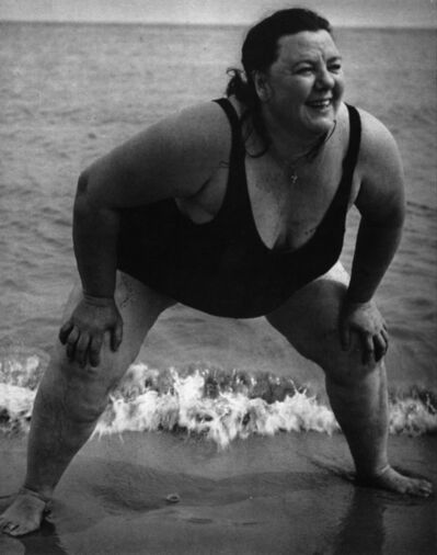 Lisette Model, 'Coney Island Bather, New York', 1939-1941