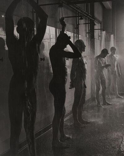 Herbert List, 'Workers in the Shower'