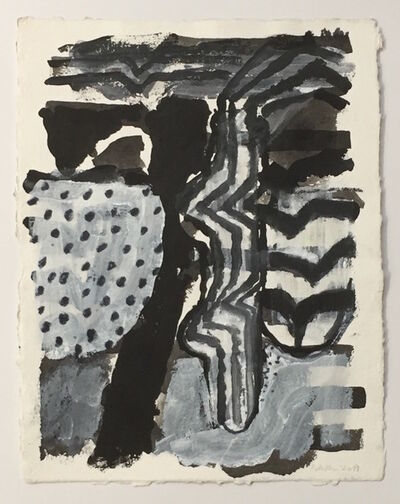 John Walker (b.1939), 'Looking Out to Sea X', 2017