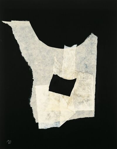 Robert Motherwell, 'Night Music Opus No. 16', 1989