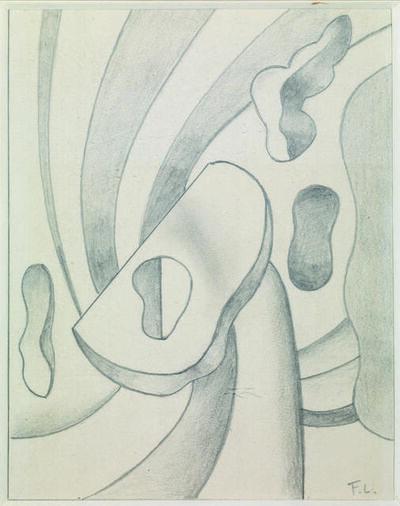 Fernand Léger, 'Etude Pour Une Composition Murale', 1950 circa