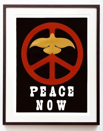 Thomas W. Benton, 'Peace Now', 1969