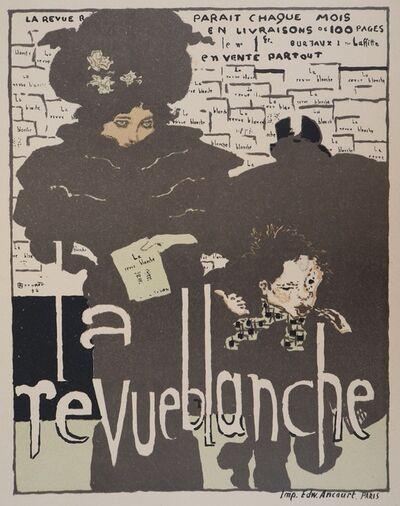 Pierre Bonnard, 'The Elegant Woman (La Revue Blanche), 1895  - Signed Lithograph', 1895