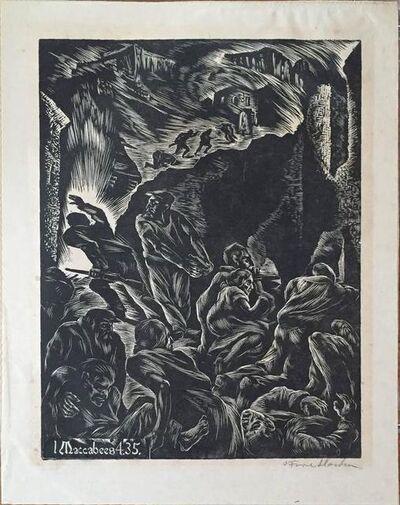 Albert Abramovitz, 'Maccabees 4.35.', 20th Century
