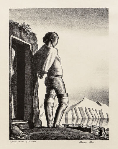 Rockwell Kent, 'Young Greenland Woman, alternatively titled Young Woman', 1933