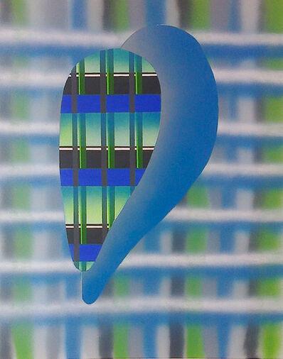 Péter Somody, 'Magnification blue-green', 2017