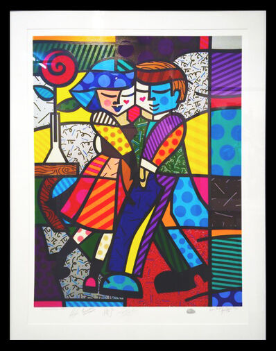 Romero Britto, 'Cheek To Cheek', 1999
