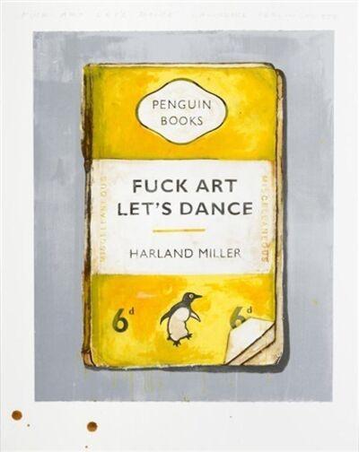 Harland Miller, 'Fuck Art Let's Dance (Diptych)', 2017