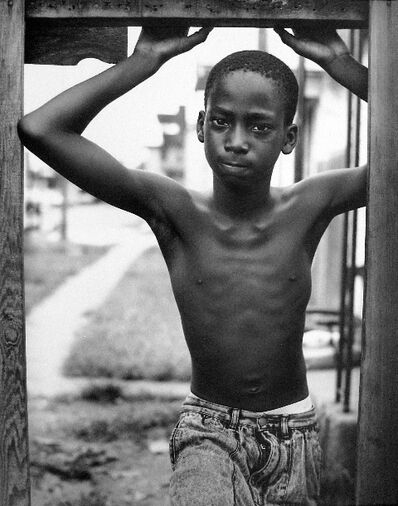 Earlie Hudnall, Jr., 'Looking Out, 3rd Ward, Houston, Texas', 1991