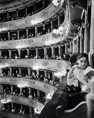 Alfred Eisenstaedt, 'Premiere at La Scala, Milan', 1933
