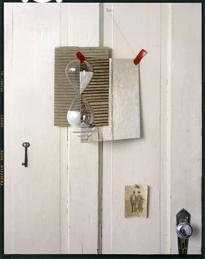 John Chervinsky, 'Hourglass, Painting on Door', 2015