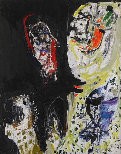 Asger Jorn, 'The Abominable Snowman', 1959