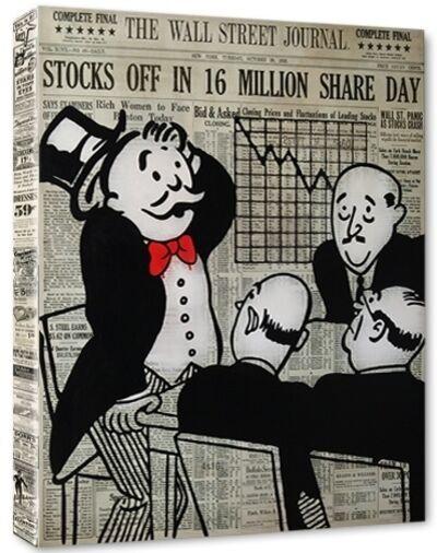 Nelson De La Nuez, 'Wall Street Panic', 2015