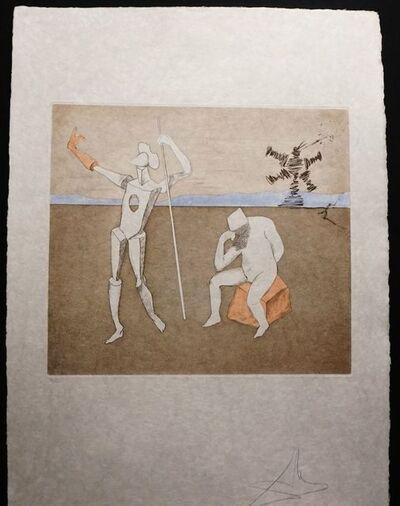 Salvador Dalí, 'Historia de Don Quichotte de la Mancha The Power of Thought', 1980