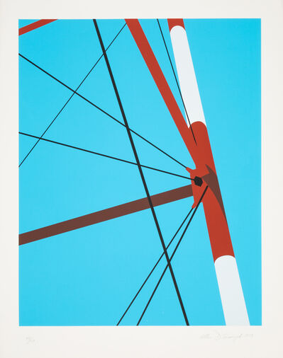 Allan D'Arcangelo, 'A Group of Five Works from Watertower', 1973