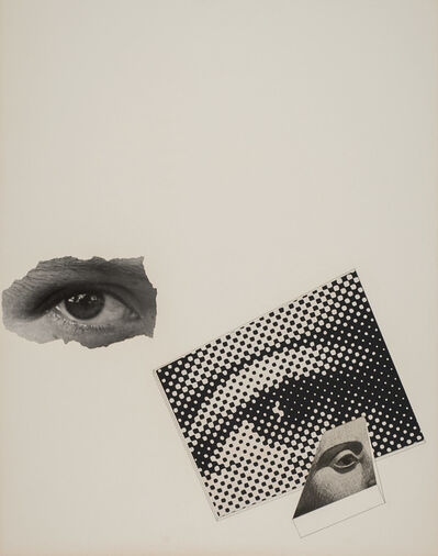 Gyorgy Kepes, 'Untitled (Photo montage: three eyes)'