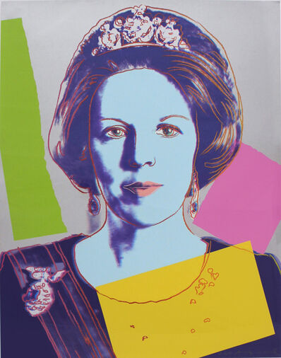 Andy Warhol, 'Queen Beatrix (Royal Edition) (FS II.340A)', 1985