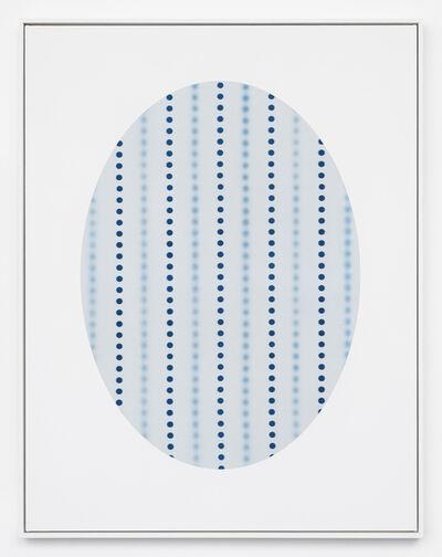 John Opera, 'Oval with Dots (white)', 2018
