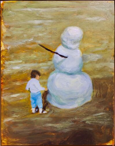 Evan Jones, 'Mammy and Snowman', 2018