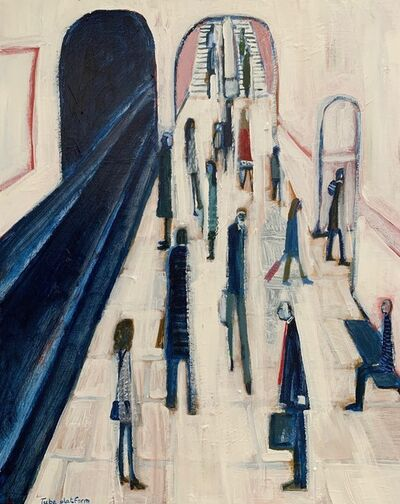 David Fawcett, 'Tube platform', Contemporary