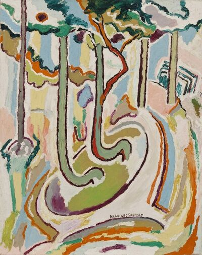 Beauford Delaney, 'Untitled (Trees)', ca. 1945