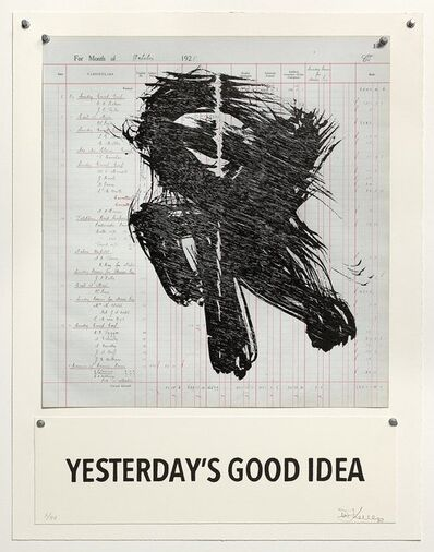 William Kentridge, 'Yesterday's Good Idea ', 2016