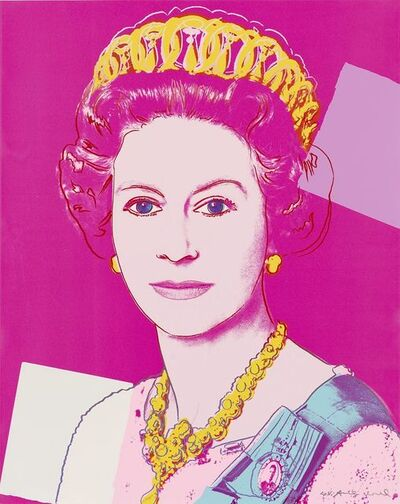 Andy Warhol, 'Reigning Queens: Queen Elizabeth II of the United Kingdom,', 1985
