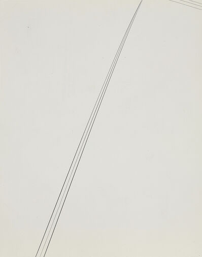 Harry Callahan, 'Detroit (telephone wires)', 1945