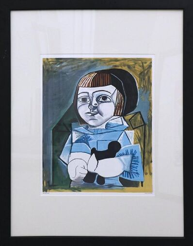 Pablo Picasso, 'Paloma en bleu (1952)', 1982