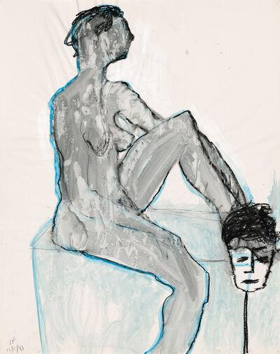 Lawrence Ferlinghetti, 'Untitled Drawing No. 6', 1981