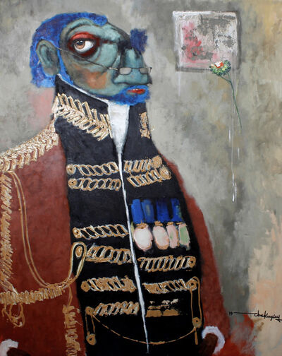 Prince Obasi, 'Potentate 1', 2019
