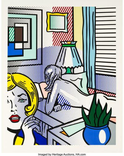 Roy Lichtenstein, 'Roommates, from Nude Series', 1994
