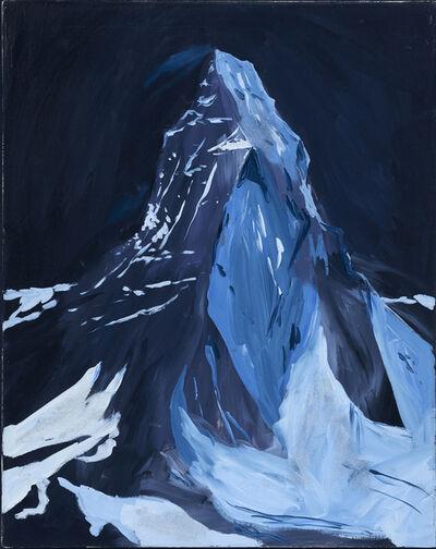 Karen Kilimnik, 'The Matterhorn at night, dreamland, 9pm, 3am, Zermatt', 2004