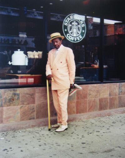 "Alice Attie, 'Harlem Starbucks, from ""Harlem on the Verge""', 2003/2009"