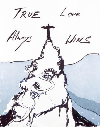 Tracey Emin, 'True Love Always Wins', 2016