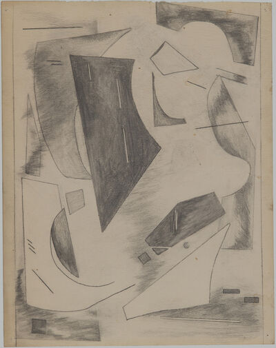 "Alice Trumbull Mason, 'Drawing for ""Colorstructive Abstraction""', 1947"