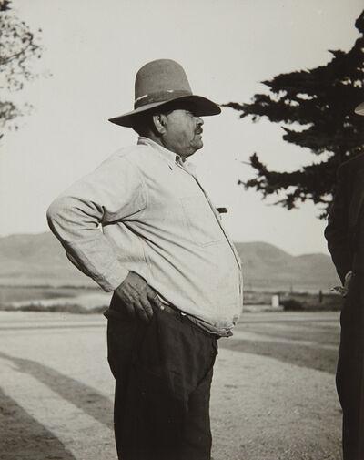 Dorothea Lange, 'Pea Contractor, Nipomo, California', 1930s