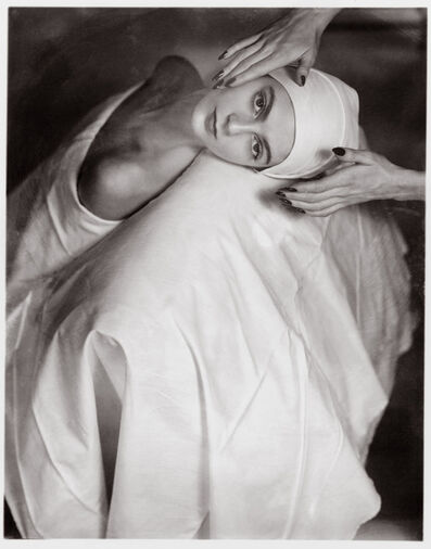 Horst P. Horst, 'Carmen Face Massage', 1946