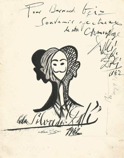 Salvador Dalí, 'SELF PORTRAIT - CAMOUFLAGE', 1942