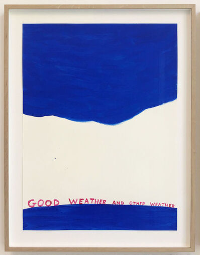 David Shrigley, 'Untitled (Good Weather and Other Weather)', 2020