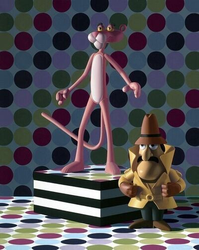 Nate Ronniger, 'Pink Panther and Inspector Clouseau', 2020