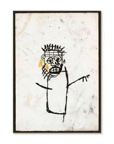 Jean-Michel Basquiat, 'Original Robert Miller Gallery Announcement', 1990