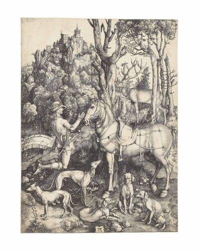 Albrecht Dürer, 'Saint Eustace (B. 57; M., Holl. 60; S.M.S. 32)', ca. 1501