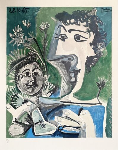 Pablo Picasso, 'Mother and Child', 1966