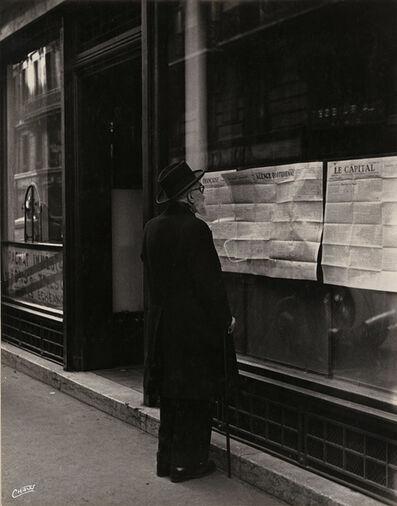 """Maurice Georges Chanu, '""""Celui qui a encore des ennuis d'argent..."""" (The one who still has money troubles..)', 1948/1948"""