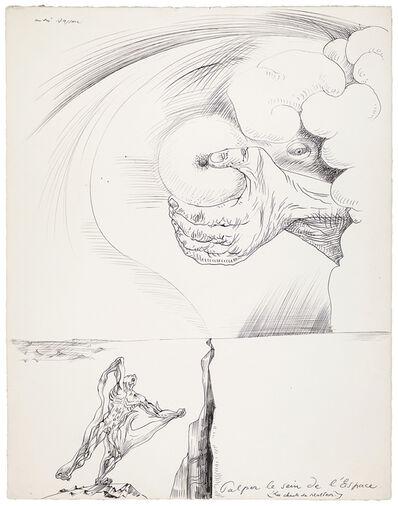 André Masson, 'Palper le sein de l'Espace (Les chants de Maldoror)', 1937
